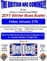 2017 winter blues buster dinner, dance and auction