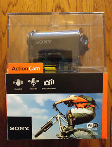 AS20 Sony Action Cam with Wi-Fi NIB