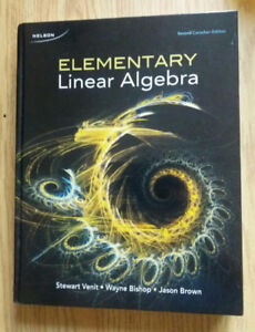 Elementary Linear Algebra, 2nd Canadian Edition