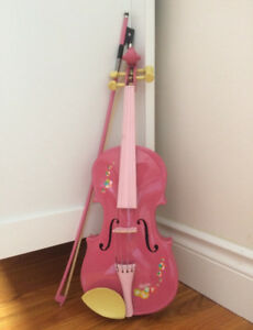 Real 1/2 Violin Pink Maple Wooden