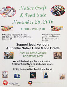 3rd Annual Native Craft & Food Sale London Ontario image 1