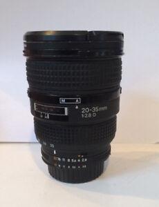 Nikon 20-35 lens