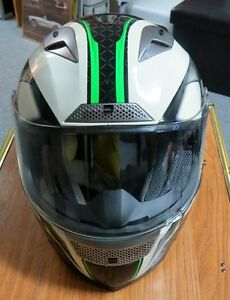 """EVOS"" full face Helmet - Tricolor- Size XL- Great Conditon."
