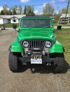1981 Jeep CJ Laredo Convertible