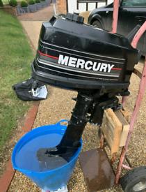 Mercury 4hp 2 Stroke Outboard