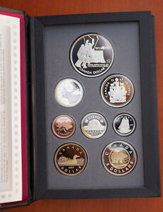 Canada Russian Hockey Proof Coin Set 1997