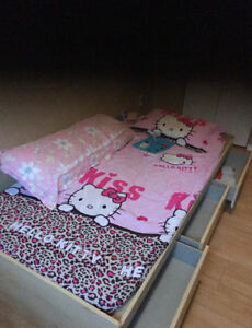 twin bed fram