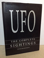 UFO The Complete Sightings by Peter Brookesmith (1995 Hardcover)