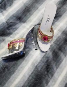 Ladies costume pleaser heels