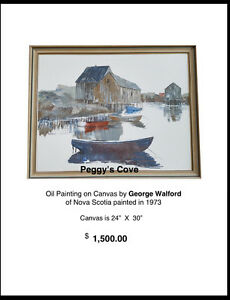 An Original George Walford Painting
