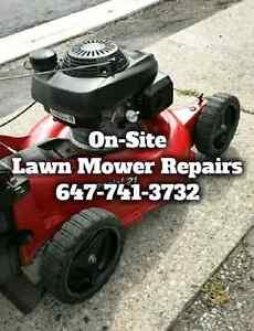 Lawn Mower Repairs ☆ Tune Ups ☆ Mobile Small Engine Repairs