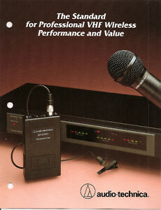 Turns Any Microphone Into A Wireless One (ATW 1032) Kitchener / Waterloo Kitchener Area image 2