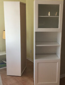 2 new wall units Ikea
