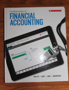 Fundamentals of Financial Accounting, 4th edition, for sale