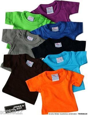 ☼☼James & Nicholson Mini-T Shirt JN-504  Farbe wählbar Puppenbekleidung &Teddy☼☼
