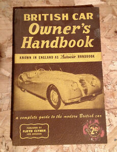 British Car Owner's Handbook