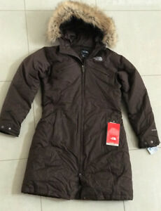 "Women's NORTH FACE Brown ""Arctic Parka"" BRAND NEW Size M"