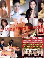 Great New Management 50% Off,$25,Best chinese massage $28/50mins