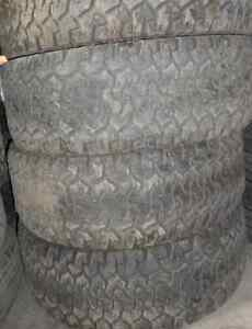 4 TIRES - 315/70/17 - 45-50% BfGoodrich All-Terrain T/A KO