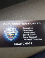 Excavation, Demolition, water control, landscaping, septic