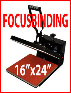 New 16x24 Digital Heat Press,Sublimation Transfer Vinyl,Plotter
