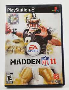 DVD ROM, Jeux Play Station 2, Madden NFL 11, Usagé