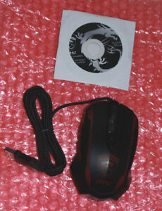 MSI Super Genius wired gaming mouse III Dragon Edition