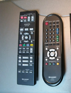 Sharp and Pioneer Remotes