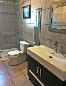 FULLY FURNISHED, ALL INCLUSIVE 51/2 - NDG (LOYOLA)