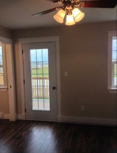 Newly built, centrally located three bedroom, three bathroom hom