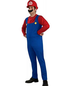 Super Mario Costume - SMALL mens/large kid or teen West Island Greater Montréal image 1