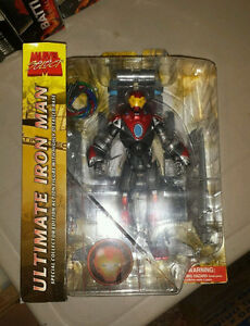 Marvel Select ULTIMATE Iron Man NEW MIB Legends 6 inch Avengers