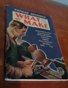 Popular Mechanics What to Make Volume 6 1945