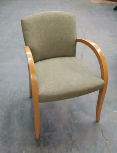 Used Wood Client Chairs