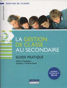 La gestion de la classe au secondaire