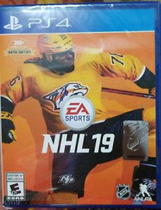 SEALED NHL 19 PS4