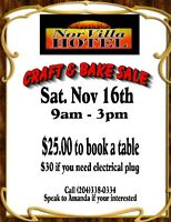 Craft Sale & Bake Sale