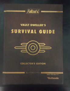 New Limited Edition Fallout 4 Guide with Game Map