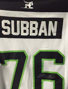 signed PK Subban jersey