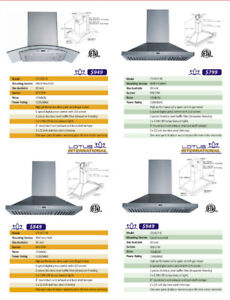 REMODELLING YOUR KITCHEN - 900 cfm Stainless Steel Exhaust Hood