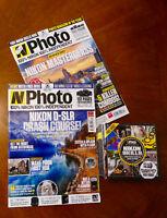 Nikon - 32 NPhoto Magazines + Discs