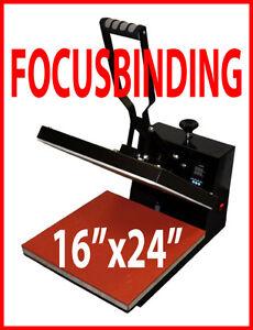 """16x24"""" Digital Heat Press,Sublimation Transfer PU Vinyl,Plotter"""