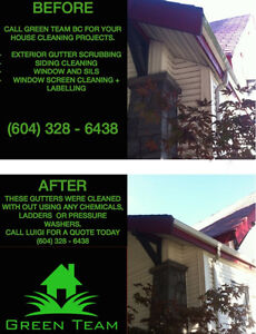 Window Cleaning - Pressure Washing - Gutter & Siding Scrubbing Regina Regina Area image 2