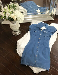 New with Tags Sexy Jean Guess Dress