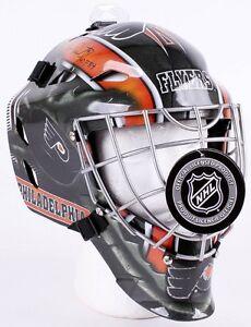 Bernie Parent Signed HOF 84 Flyers Full-Size Goalie Hockey Mask