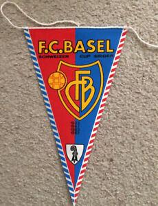 FC Basel Swiss soccer pennant