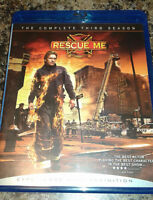 Rescue Me season 3 bluray set
