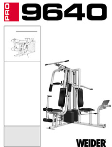 GET FIT FOR SUMMER - weider 9640 universal home gym