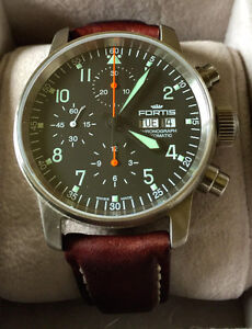 Fortis Flieger Automatic Chronograph Watch