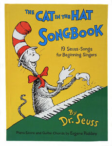 ▀▄▀The Cat in the Hat Songbook by Dr. Seuss-1967